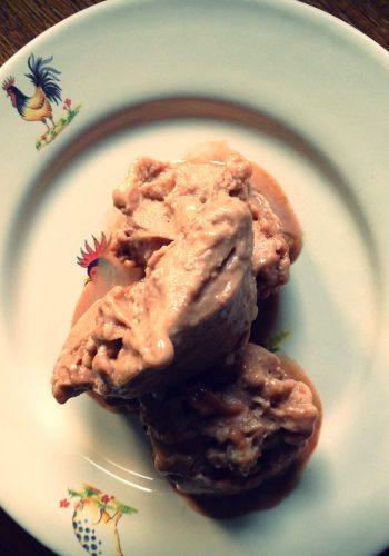 Bananen-chocolade-ijs
