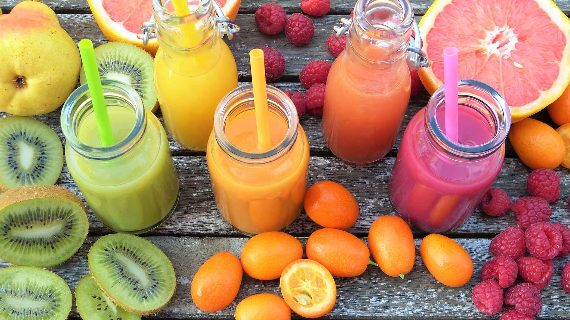 Fruit en smoothies