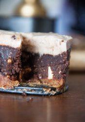 Kastanje-chocoladetaartje