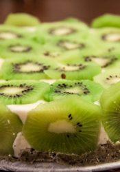 Kiwi-kokostaart
